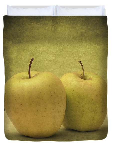 Apples Duvet Cover by Taylan Apukovska