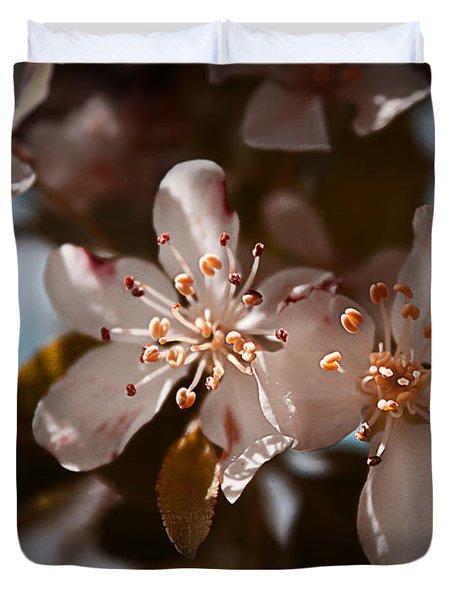April In Colors Duvet Cover