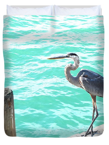 Aqua Bliss Duvet Cover