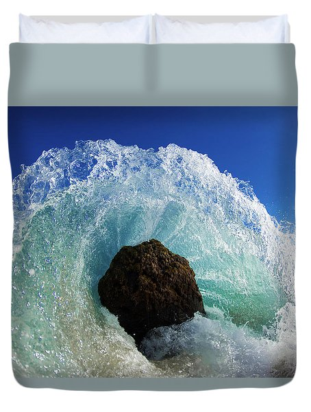 Aqua Dome Duvet Cover