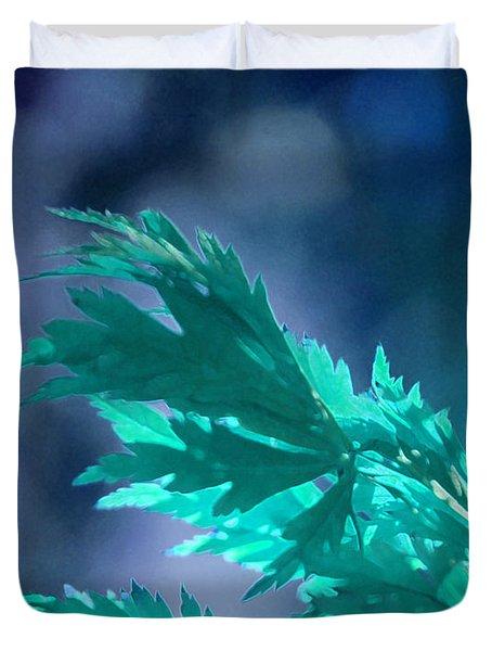 Aqua Dreams  Duvet Cover by First Star Art