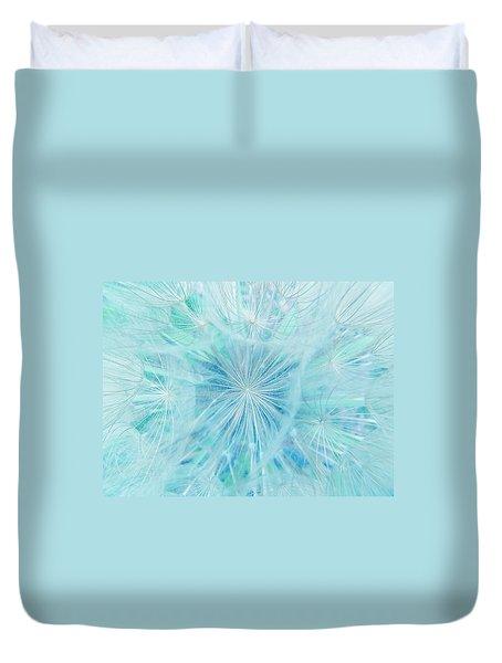 Aqua Salsify Duvet Cover