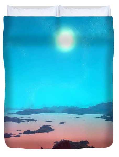 Aquarius Prime Duvet Cover
