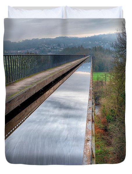 Aqueduct Duvet Cover by Adrian Evans