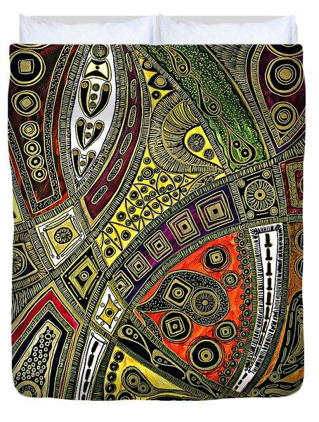 Arabian Nights Duvet Cover by Jolanta Anna Karolska