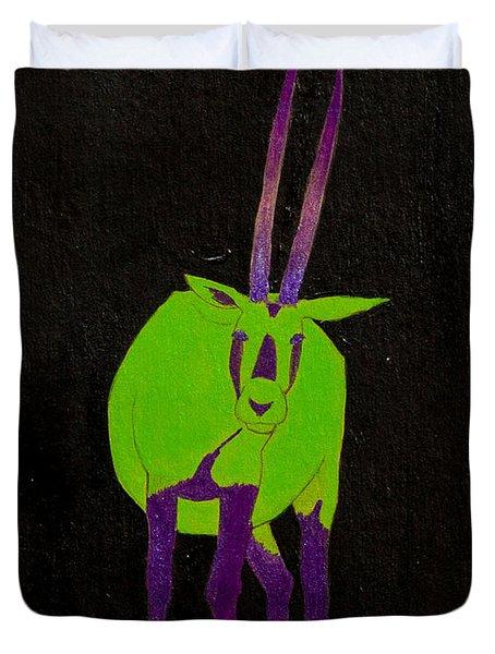 Arabian Oryx Duvet Cover