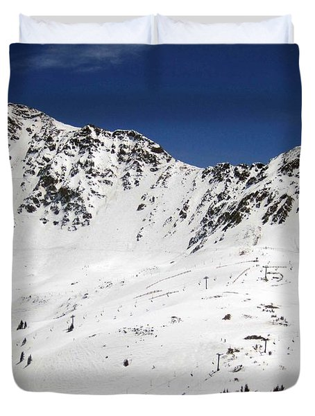 Arapahoe Basin Ski Resort - Colorado          Duvet Cover