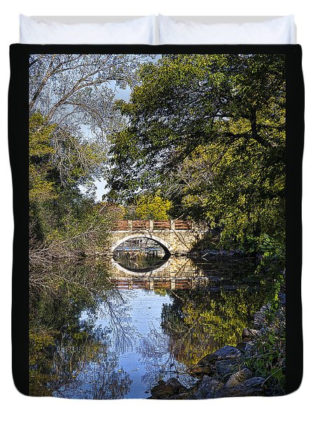 Arboretum Drive Bridge - Madison - Wisconsin Duvet Cover