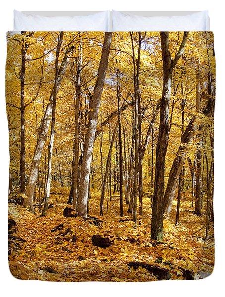 Arboretum Trail Duvet Cover