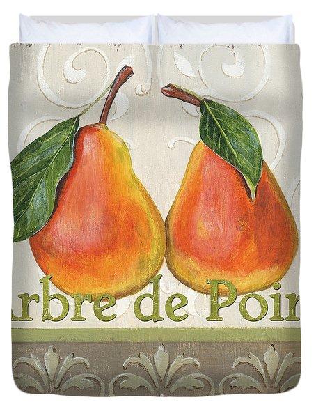 Arbre De Poire Duvet Cover
