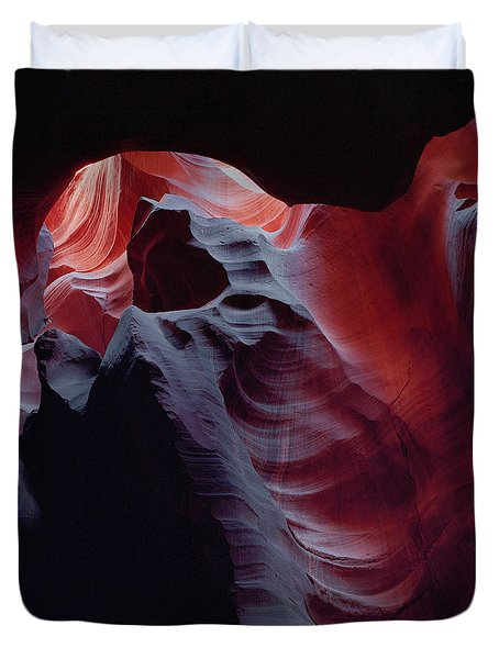 Arc Light-sq Duvet Cover