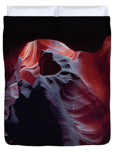 Arc Light-v Duvet Cover