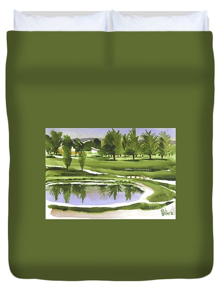 Arcadia Valley Country Club Duvet Cover by Kip DeVore