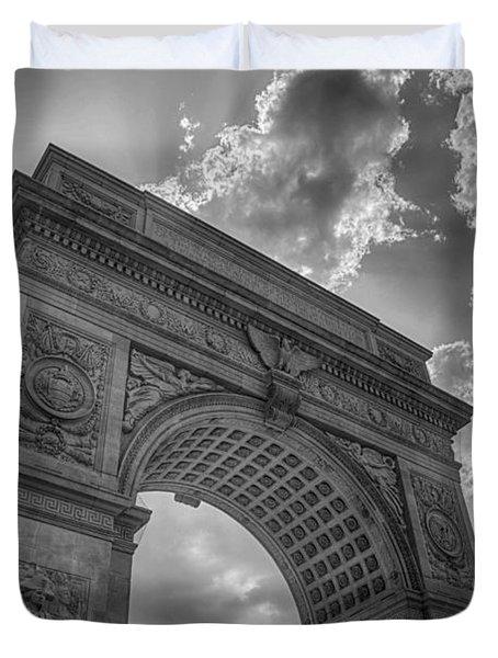 Arch At Washington Square Duvet Cover