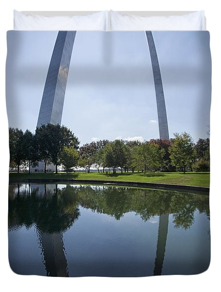 Arch Reflection Duvet Cover