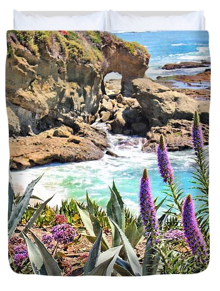 Arch Rock Laguna Duvet Cover