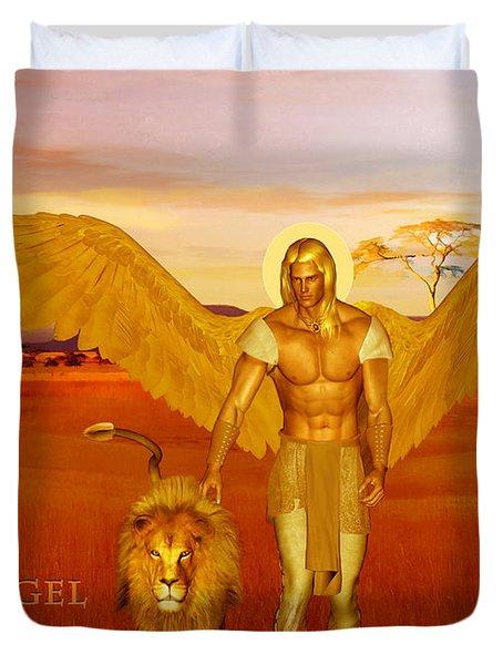 Archangel Ariel Duvet Cover
