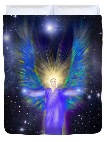 Archangel Michael Duvet Cover