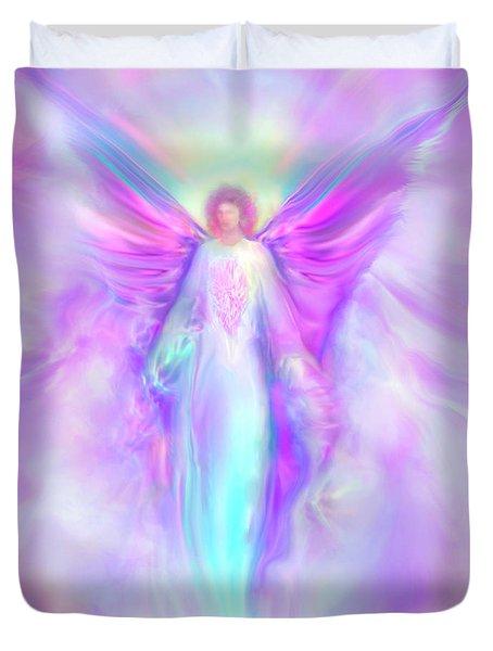 Archangel Raphael Duvet Cover