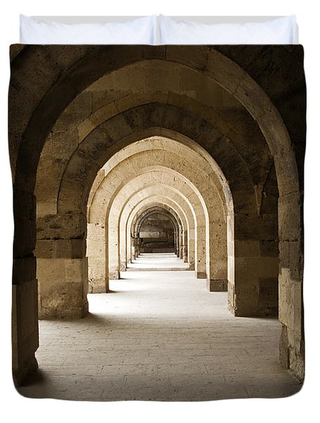 Arched Colonade Duvet Cover