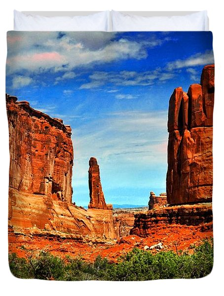 Arches 15 Duvet Cover by Marty Koch