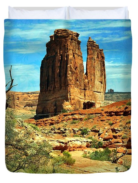 Arches 23 Duvet Cover by Marty Koch