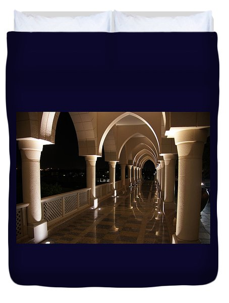 Arches In Abu Dhabi Duvet Cover