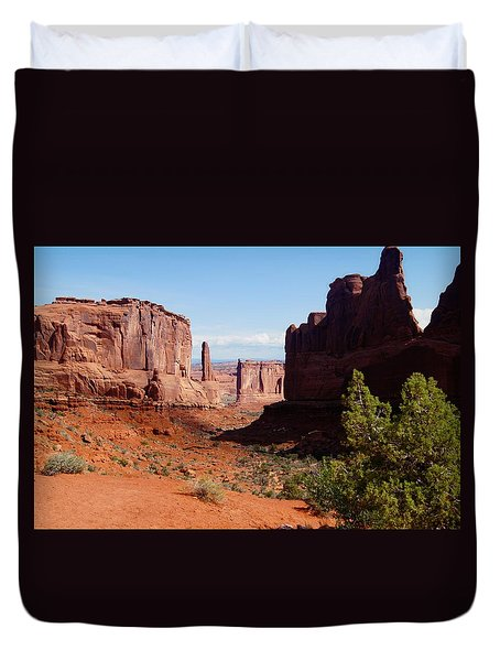 Arches National Park Duvet Cover
