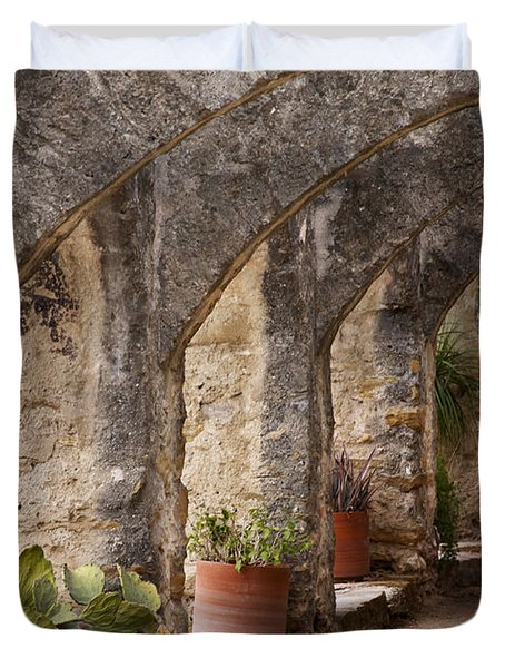 Arches Of San Jose Duvet Cover