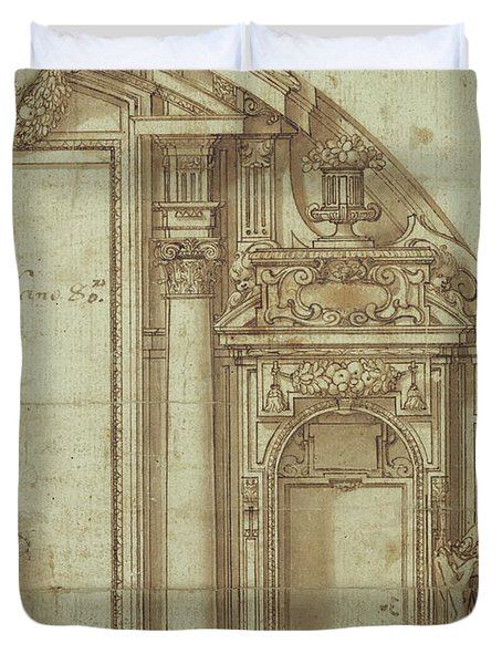 Architectural Study Duvet Cover