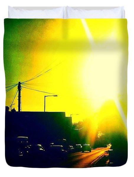 Evening Light Duvet Cover by Jason Michael Roust