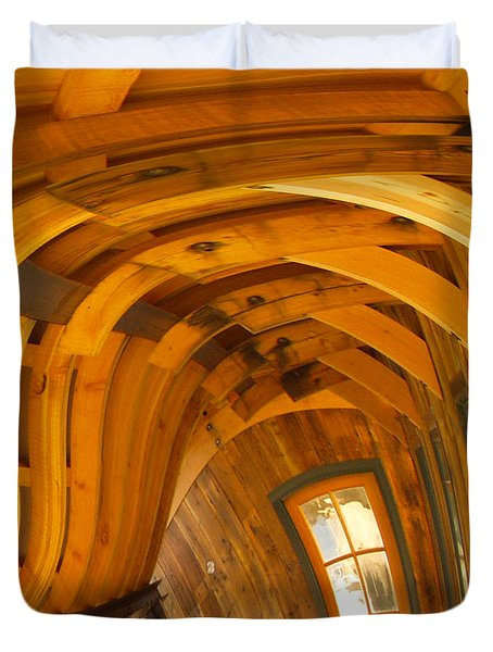 Architecture By Seuss Duvet Cover by Omaste Witkowski