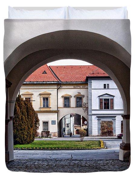 Archways Duvet Cover by Les Palenik