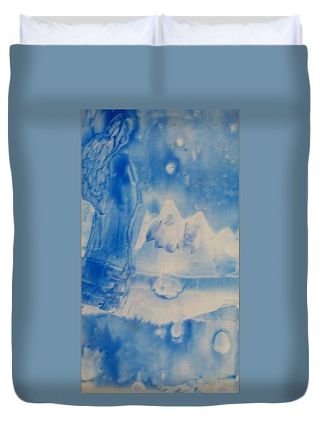 Arctic Angel  Duvet Cover