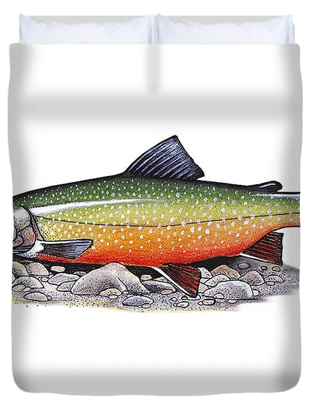 Arctic Char Male Duvet Cover