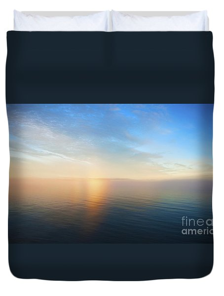 Arctic Colors... Duvet Cover by Nina Stavlund