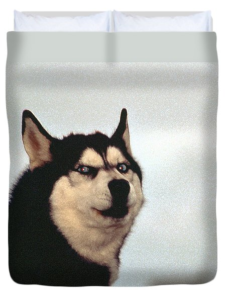Arctic Dog Duvet Cover
