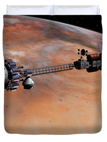 Ares1 Release Duvet Cover