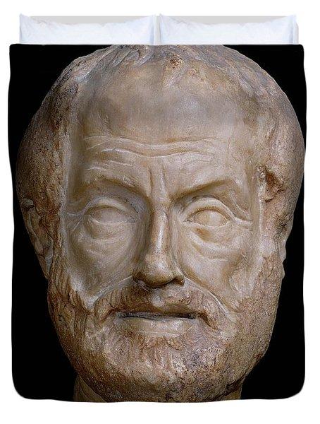 Aristotle  Duvet Cover