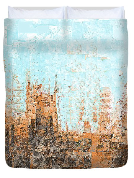 Arizona Abstract Duvet Cover by Jessica Wright