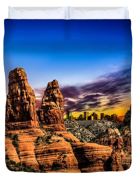 Arizona Life Duvet Cover by Fred Larson