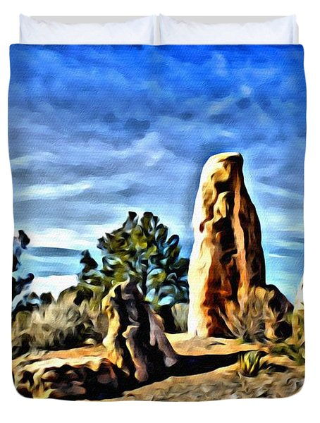 Arizona Monolith Duvet Cover