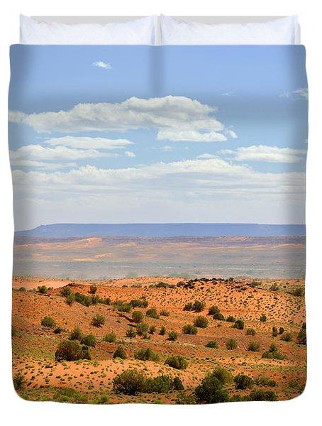 Arizona Near Canyon De Chelly Duvet Cover by Christine Till