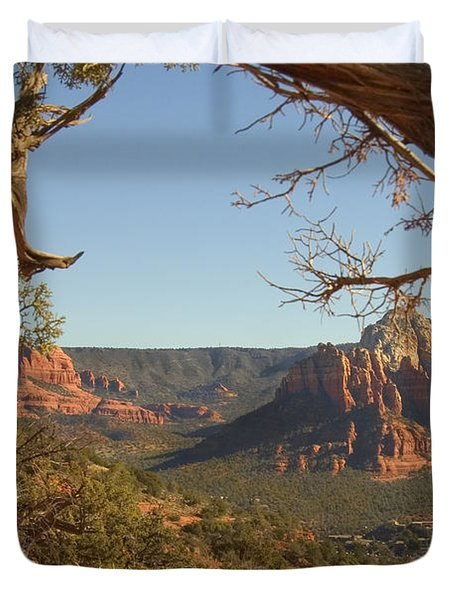 Arizona Outback 5 Duvet Cover by Mike McGlothlen