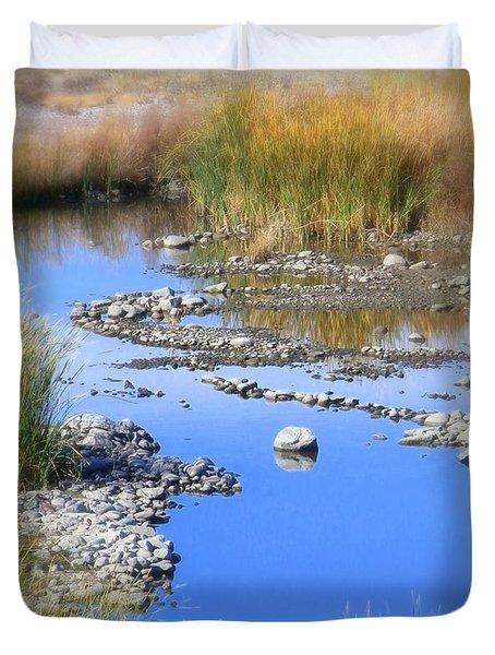 Arizona Salt River Duvet Cover