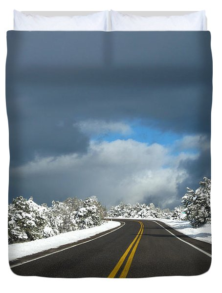 Arizona Snow 1 Duvet Cover