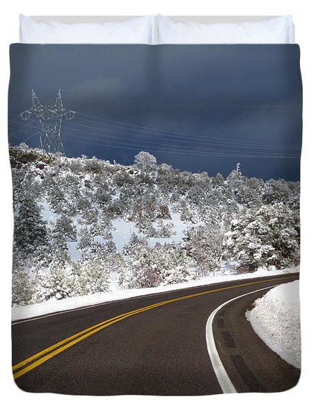 Arizona Snow 2 Duvet Cover