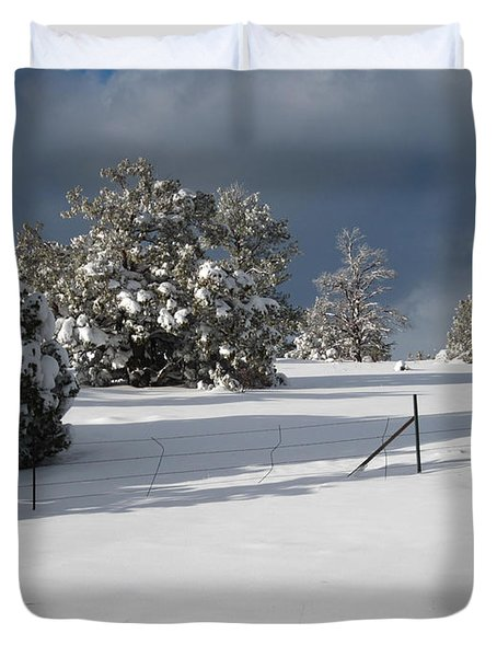 Arizona Snow 3 Duvet Cover