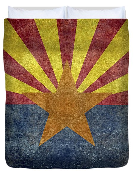 Arizona State Flag Duvet Cover