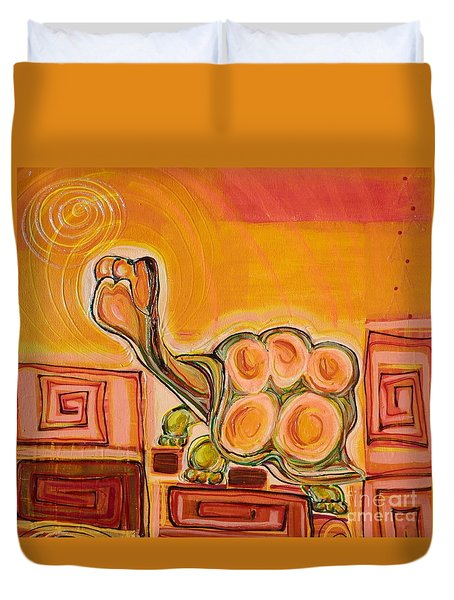 Arizona Turtle Duvet Cover